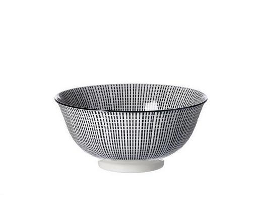MÜSLISCHALE - Schwarz/Weiß, Basics, Keramik (15,5/7cm) - Ritzenhoff Breker