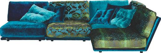 WOHNLANDSCHAFT in Multicolor Textil - Multicolor/Schwarz, Design, Kunststoff/Textil (200/287cm) - BRETZ