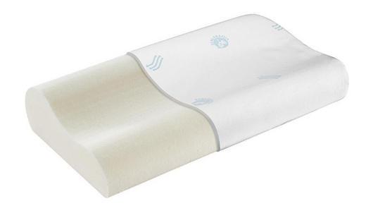 NACKENKISSEN Doppeltuch Kaltschaum - Weiß, Basics, Textil (74/36/11/9cm) - Schlaraffia