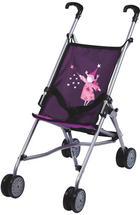 Puppenwagen - Pink/Lila, Basics, Kunststoff/Textil (51/26,5/55cm) - My Baby Lou