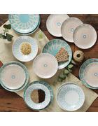 Porzellan  Kombiservice Thomas 18-teilig   - Multicolor, Basics, Keramik (33,5/33,5/29,8cm) - Thomas