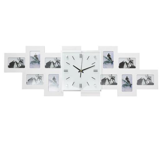 FOTOHODINY, 10 obraz/y, bílá - bílá, Basics, dřevo/sklo (80/26/4,8cm) - Boxxx