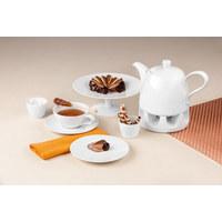 FRÜHSTÜCKSTELLER Keramik Porzellan  - Weiß, Basics, Keramik (22,5cm) - Seltmann Weiden