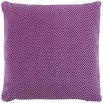 Zierkissen Floreta - Violett, MODERN, Textil (45/45cm) - Luca Bessoni