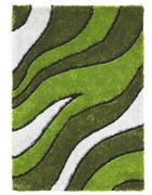 KOSMATINEC SMOOTH WAVE - zelena, Design, tekstil (120/170cm) - Novel