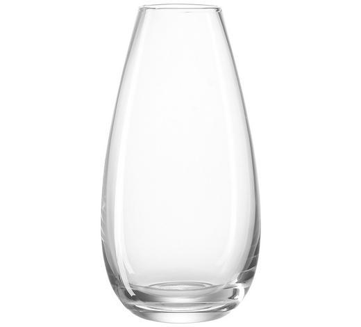 VÁZA - průhledné, Basics, sklo (17cm) - Leonardo