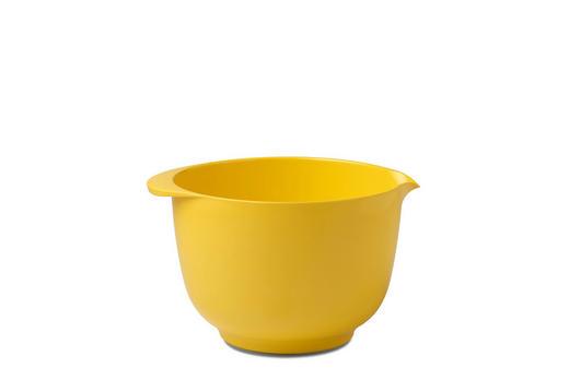 RÜHRSCHÜSSEL - Gelb, Design, Kunststoff (22/18,4/13cm) - Mepal Rosti