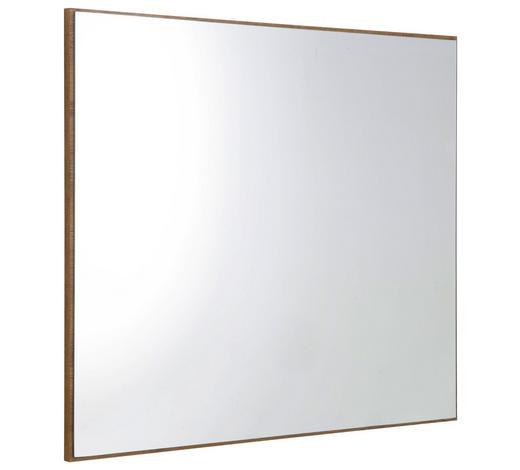 ZRCADLO, 80/70/2 cm,  - barvy dubu, Konvenční, kompozitní dřevo/sklo (80/70/2cm)