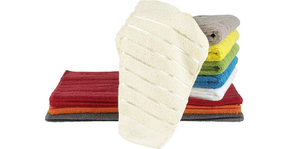 DUSCHTUCH 70/140 cm Gelb  - Gelb, Basics, Textil (70/140cm) - Esposa