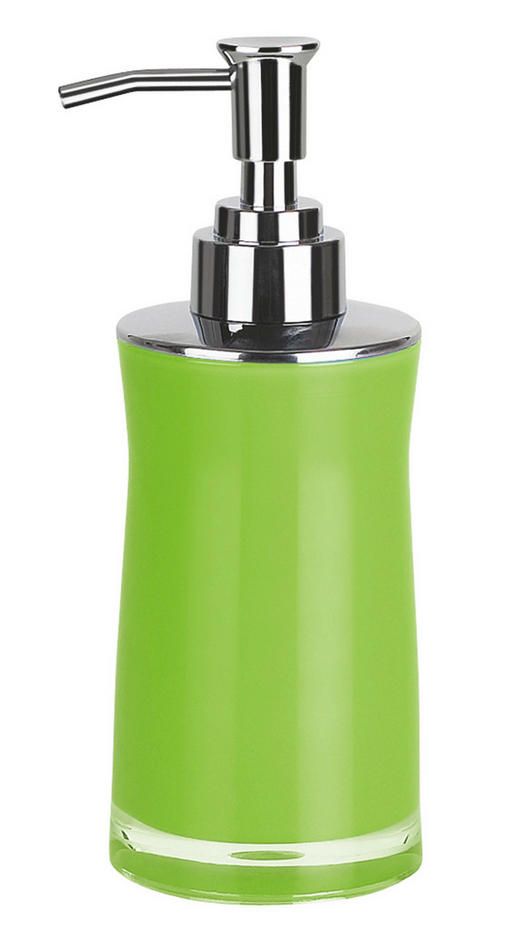 SEIFENSPENDER - Hellgrün, Basics, Kunststoff (7/7/18.5cm) - SPIRELLA
