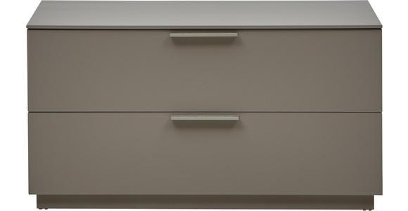 GARDEROBENBANK Fango, Naturfarben - Fango/Edelstahlfarben, Design, Metall (84/45/36cm) - Dieter Knoll