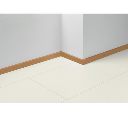 SOCKELLEISTE Rot, Buchefarben - Rot/Buchefarben, Basics, Holzwerkstoff (257/1,6/4cm) - Parador