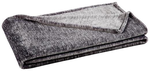 WOHNDECKE 150/200 cm Anthrazit - Anthrazit, Design, Textil (150/200cm) - Novel