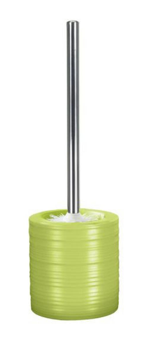 GARNITURA TOALETNE ČETKE - zelena/boje srebra, Konvencionalno, metal/plastika (38/10,8cm) - KLEINE WOLKE