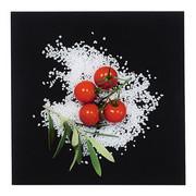 Essen & Trinken GLASBILD - Multicolor, Basics, Glas (30/30/2cm) - Eurographics