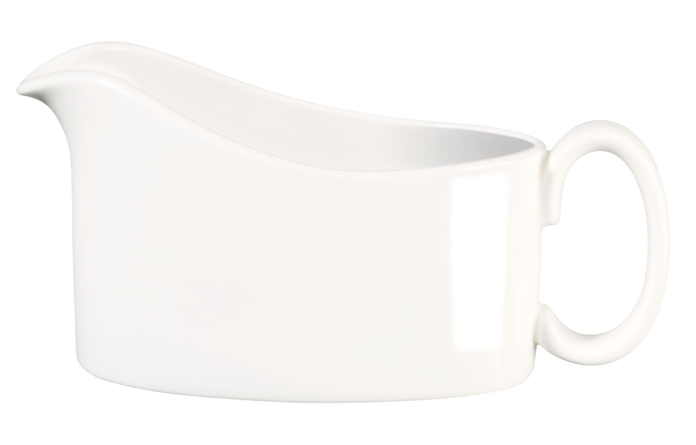 SAUCIERE Fine Bone China - Weiß, Basics (15,2/9,5cm) - ASA