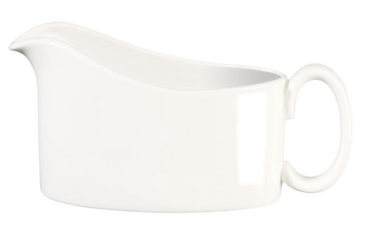 SAUCIERE Fine Bone China - Weiß, Basics (15,2/9,5cm) - ASA