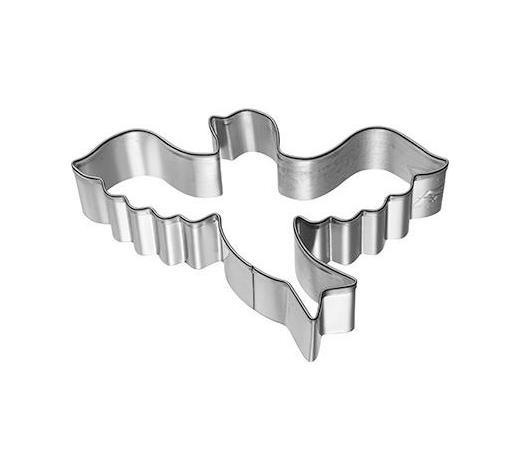 KEKSAUSSTECHFORM - Edelstahlfarben, Basics, Metall (7/7/2,5cm) - Birkmann