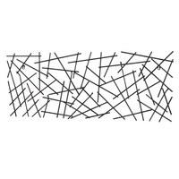 WANDGARDEROBE Anthrazit  - Anthrazit, Design, Metall (100/40/5cm)
