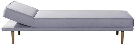 LIEGE in Textil Hellgrau  - Hellgrau, Design, Holz/Textil (83/44/70/204cm) - Novel