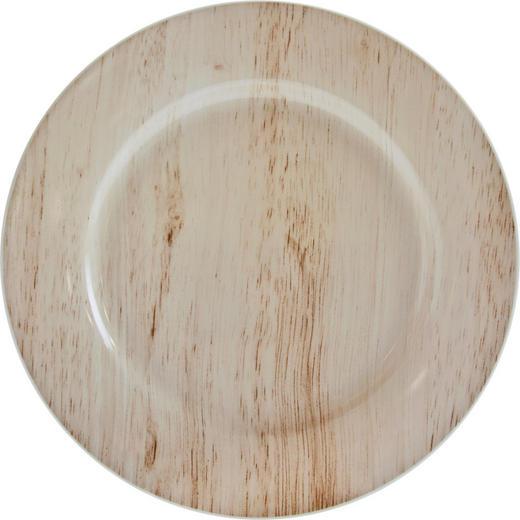 DESSERTTELLER 20,5 cm - Braun, Basics, Keramik (20,5cm) - Landscape
