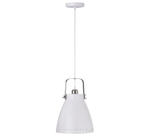 HÄNGELEUCHTE - Weiß, Design, Metall (21,5/120cm) - Boxxx