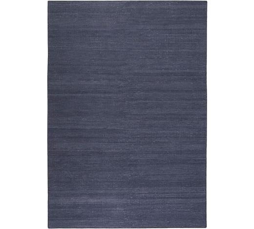 HANDWEBTEPPICH 160/230 cm - Blau/Dunkelblau, KONVENTIONELL, Textil (160/230cm) - Esprit
