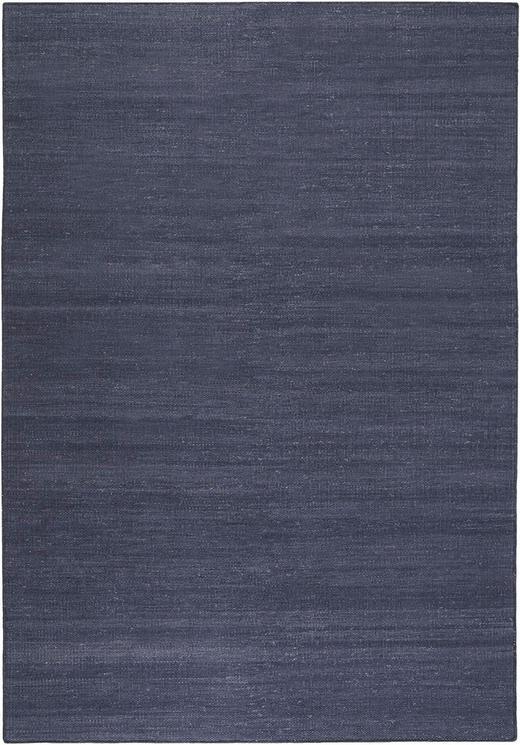 HANDWEBTEPPICH  130/190 cm  Dunkelblau - Dunkelblau, Basics, Textil (130/190cm) - Esprit
