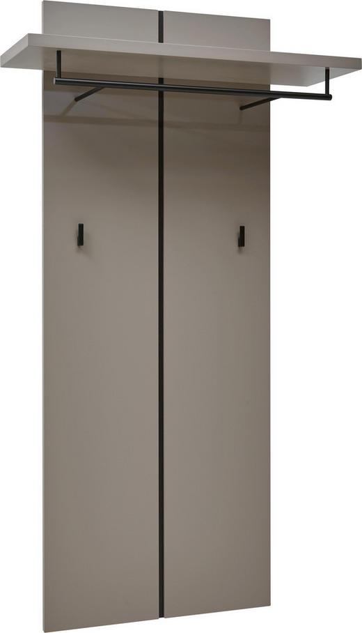 GARDEROBENPANEEL lackiert Schlammfarben - Schlammfarben, Design (62-84/155/32cm) - Dieter Knoll