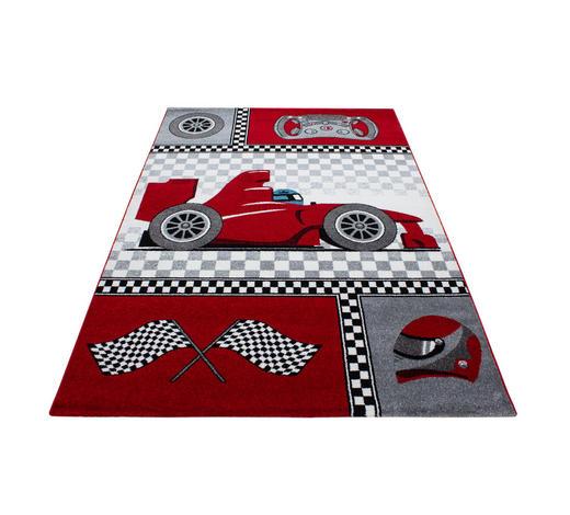 KINDERTEPPICH 80/150 cm - Rot, Trend, Textil (80/150cm) - Ben'n'jen
