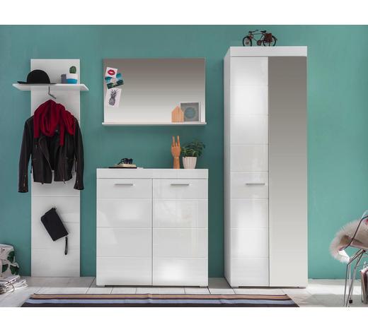 GARDEROBE - Weiß, Design, Holzwerkstoff (233/195/38cm) - Carryhome