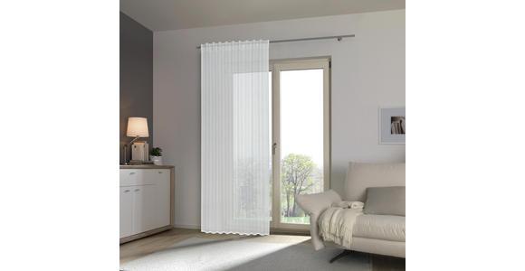 FERTIGVORHANG transparent  - Naturfarben, Design, Textil (140/245cm) - Esposa