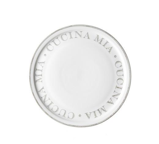 PIZZATELLER Keramik Porzellan - Weiß/Grau, LIFESTYLE, Keramik (30cm) - Ritzenhoff Breker