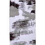 BADTEPPICH  70/120 cm  Lila, Weiß, Hellgrau   - Lila/Hellgrau, Design, Textil (70/120cm) - Ambiente
