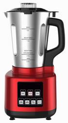 DAMPFKOCHMIXER - Rot/Silberfarben, MODERN, Kunststoff/Metall (3,7kg)