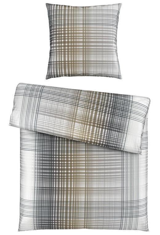 BETTWÄSCHE Satin Anthrazit 135/200 cm - Anthrazit, Basics, Textil (135/200cm) - Novel
