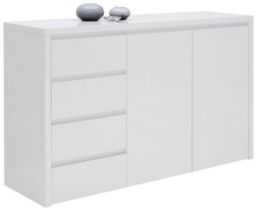 KOMMODE Weiß - Weiß, Design, Holzwerkstoff (146/92,2/45cm) - Voleo