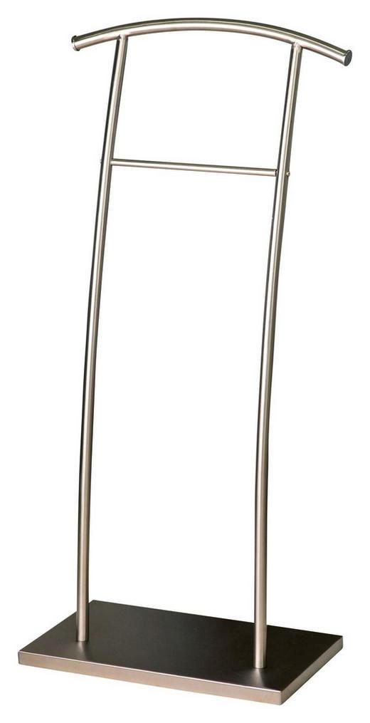 HERRENDIENER Edelstahlfarben - Edelstahlfarben, Design, Metall (46/95,5/25cm)