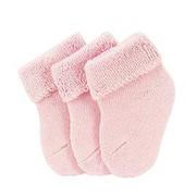 SOCKEN - Rosa, Basics, Textil (18/9,50/1,50cm) - Sterntaler