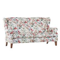 SEDEŽNI ELEMENT  večbarvno tekstil - hrast/večbarvno, Konvencionalno, tekstil (195/104/90cm) - Ambia Home