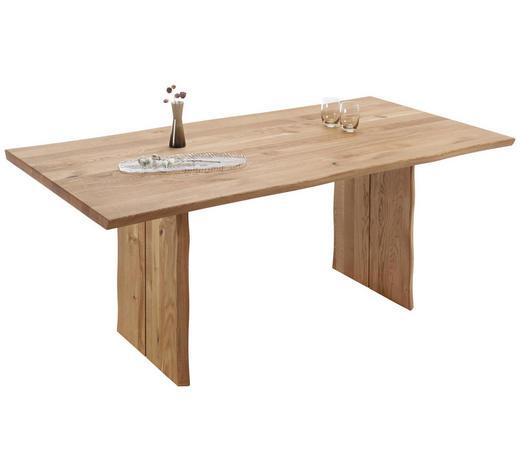 ESSTISCH in Holz 160/90/75 cm   - Eichefarben, Natur, Holz (160/90/75cm) - Linea Natura