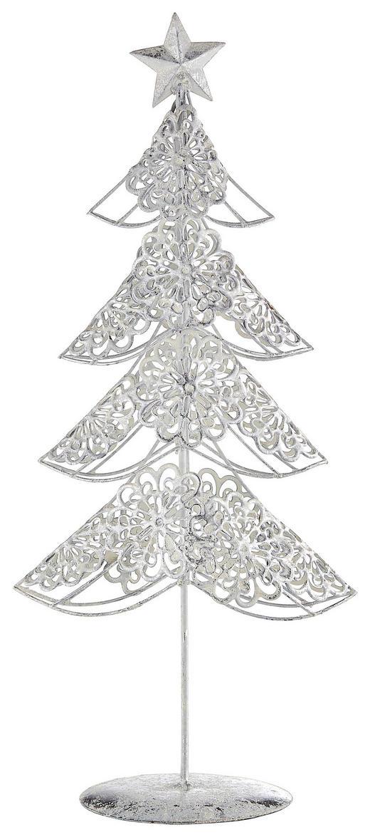 DEKOWEIHNACHTSBAUM  Weiß - Weiß, Metall (26/60/26cm)