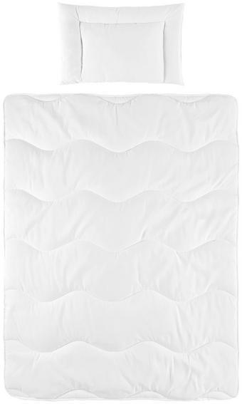 SADA DO DĚTSKÉ POSTÝLKY - bílá, Basics, textil (100/135cm) - My Baby Lou