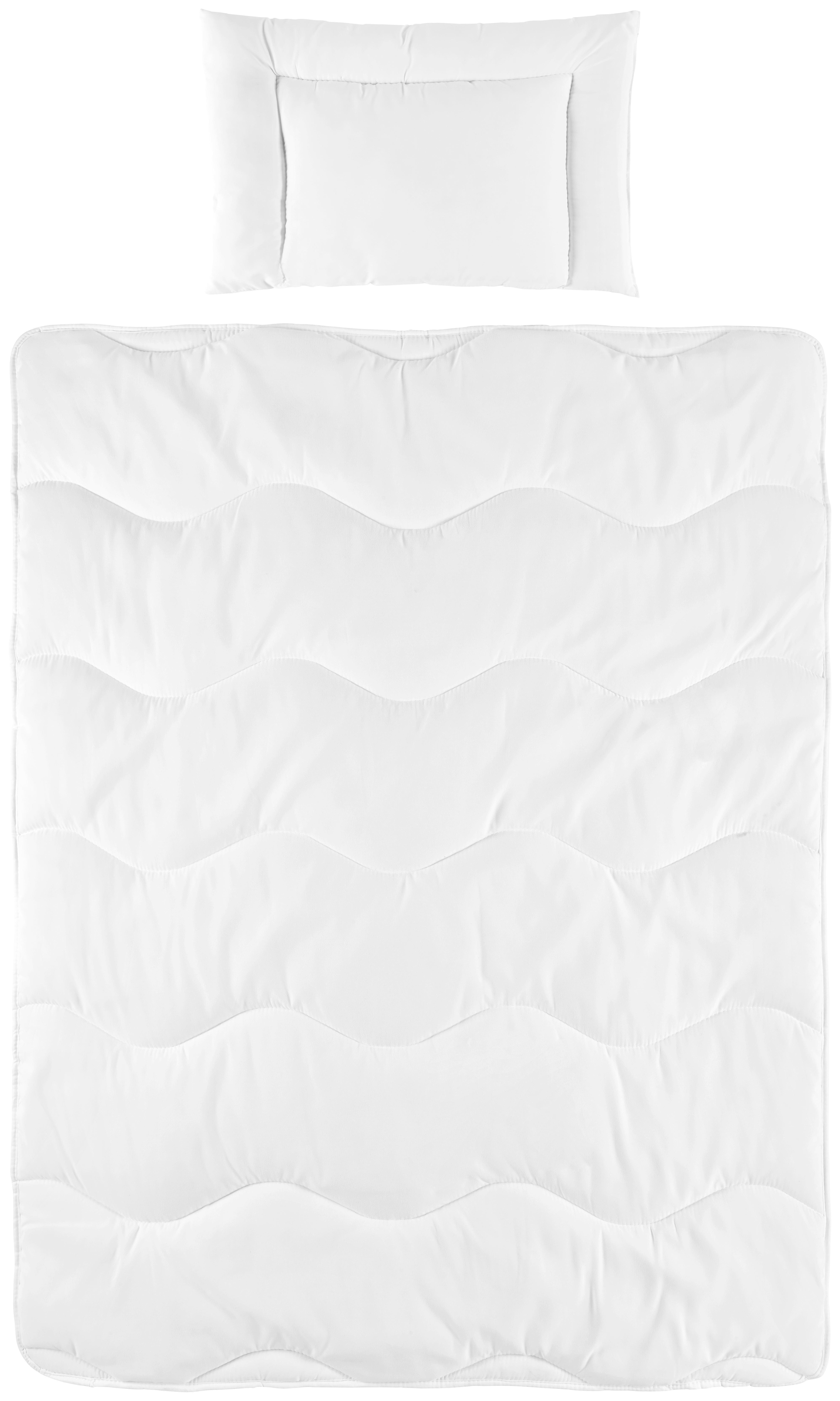 SET ZA DJEČJI KREVET - bijela, Basics, tekstil (100/135cm) - MY BABY LOU