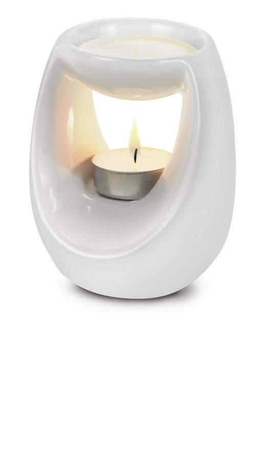 RAUMDUFTHALTER - Weiß, Basics, Keramik (10,5/8,8/12,8cm) - Ipuro