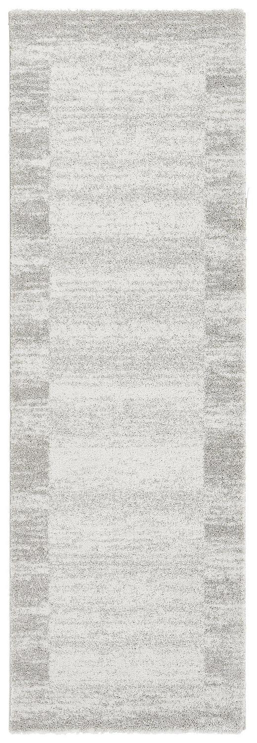 LÄUFER  80/240 cm  Creme, Silberfarben - Silberfarben/Creme, Basics, Textil (80/240cm) - Novel