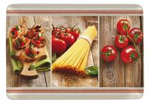SERVIERTABLETT - Gelb/Rot, KONVENTIONELL, Kunststoff (23/31cm) - Homeware