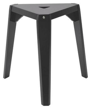 PALL - svart, Design, trä/träbaserade material (53/45/44cm)