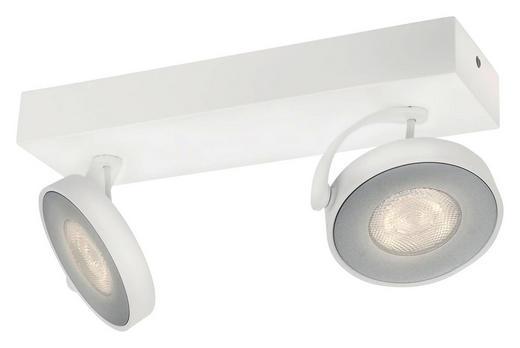 MYLIVING LED-DECKENLEUCHTE - Weiß, Design, Metall (25,5/9/9,3cm) - Philips