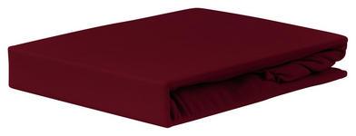 Spannleintuch Jardena 160x200 cm - Bordeaux, KONVENTIONELL, Textil (140-160/200cm) - Ombra